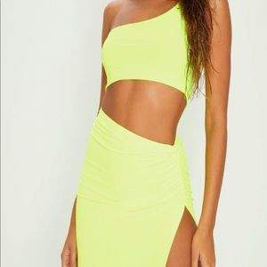 PrettyLittleThing brand new crop & maxi skirt